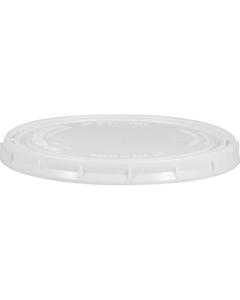 Superfos 1 Quart (32 oz) White HDPE Vapor Lock Lid