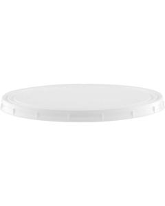 Superfos® 1/2 Gallon (64 oz.) White HDPE Vapor Lock Lid, L604