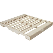 """48"""" x 40"""" Recycled Wood Pallet, 4-Way Fork Access, 2,500 lb. Capacity"""
