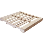 """48"""" x 42"""" Recycled Wood Pallet, 4-Way Fork Access, 2,000 lb. Capacity"""