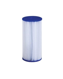 """Economy grade 4-1/2 x 10"""" pleated filter cartridge shown (available in lengths up to 40"""")"""