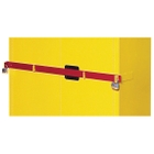Red Security Bar for High Security Safety Cabinets (Justrite® 50961R)