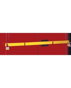 Yellow Security Bar for High Security Safety Cabinets (Justrite® 50962Y)