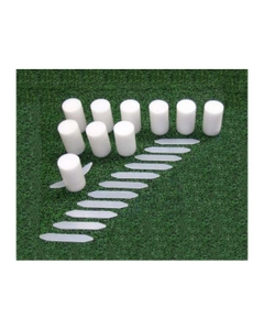 Replacement Foam Markers for Athletic Field Layout System, 10 Pieces
