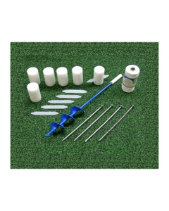 Safemark 25 Piece Permanent Field Layout System, Soccer