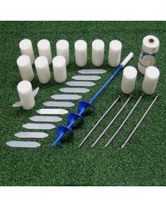 Football Field Foam Marker Layout System, 50 Pieces