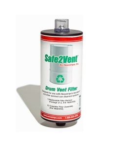 """Safe2Vent Single Filter Assembly 3/4"""", For Manual Systems"""