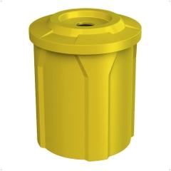 42 Gallon Recycling Receptacle, Flat Top 4