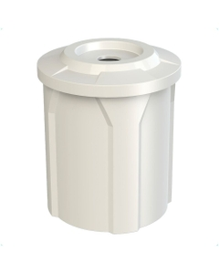 """42 Gallon Recycling Receptacle, Flat Top 4"""" Opening"""