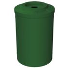 55 Gallon Green Recycling Receptacle, Flat Top 4