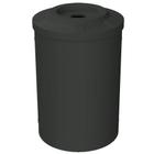 55 Gallon Black Recycling Receptacle, Flat Top 4