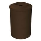 55 Gallon Brown Granite Recycling Receptacle, Flat Top 4