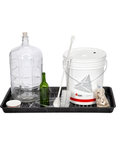 Black Spill Containment Utility Lab Tray