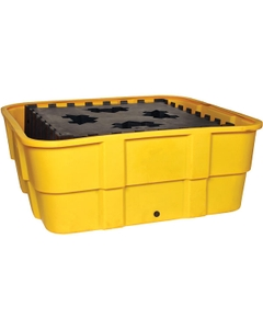 IBC Yellow Spill Containment Unit, No Drain