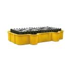 2 IBC Yellow Spill Containment Unit, No Drain