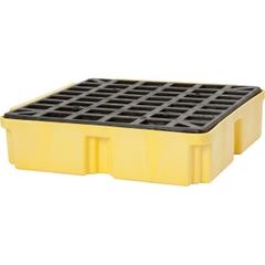 1-Drum Yellow Modular Spill Platform, No Drain