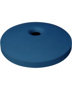 "55 Gallon Drum Blue Plastic Mushroom Top Recycling Lid, 4"" Opening"