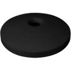 "55 Gallon Drum Black Plastic Mushroom Top Recycling Lid, 4"" Opening"
