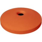 "55 Gallon Drum Orange Plastic Mushroom Top Recycling Lid, 4"" Opening"