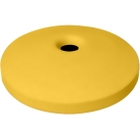 55 Gallon Drum Yellow Plastic Mushroom Top Recycling Lid, 4