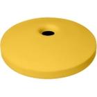 "55 Gallon Drum Yellow Plastic Mushroom Top Recycling Lid, 4"" Opening"