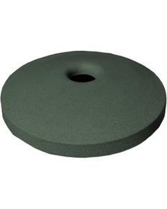 "55 Gallon Drum Green Granite Plastic Mushroom Top Recycling Lid, 4"" Opening"