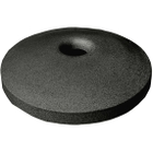 "55 Gallon Drum Dark Granite Plastic Mushroom Top Recycling Lid, 4"" Opening"