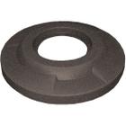 """55 Gallon Drum Brown Granite Plastic Flat Top Trash Receptacle Lid, 11.5"""" Opening"""