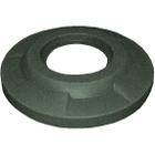 """55 Gallon Drum Green Granite Plastic Flat Top Trash Receptacle Lid, 11.5"""" Opening"""
