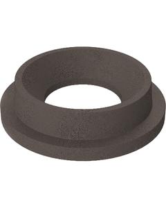 "55 Gallon Drum Brown Granite Plastic Funnel Top Trash Receptacle Lid, 11.5"" Opening"