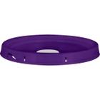 5 Gallon Purple Tear Strip Plastic Pail Lid w/Rieke Flexspout® (P5 Series)