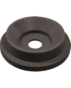 "55 Gallon Drum Brown Granite Plastic Funnel Top Recycling Lid, 5"" Opening"