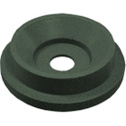 """55 Gallon Drum Green Granite Plastic Funnel Top Recycling Lid, 5"""" Opening"""