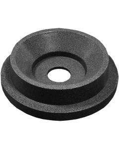 "55 Gallon Drum Dark Granite Plastic Funnel Top Recycling Lid, 5"" Opening"