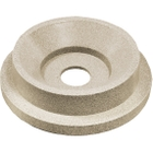 "55 Gallon Drum Beige Granite Plastic Funnel Top Recycling Lid, 5"" Opening"