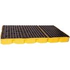 6-Drum Yellow Modular Spill Platform, No Drain