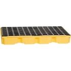 2-Drum Yellow Modular Spill Platform, No Drain