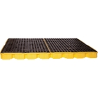 8-Drum Yellow Modular Spill Platform, No Drain