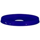 5 Gallon Reflex Blue Tear Strip Plastic Pail Lid w/Rieke Flexspout® (P5 Series)