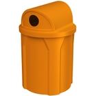 42 Gallon Orange Recycling Receptacle, 2-Way (Dual 5