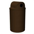 55 Gallon Brown Granite Recycling Receptacle, 2-Way (Dual 5