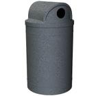 55 Gallon Dark Granite Recycling Receptacle, 2-Way (Dual 5