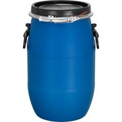 8 Gallon Blue Plastic Drum