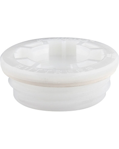 """2"""" Buttress Tri-Sure® Plastiplug™ 3/4"""" Threaded Reducer with EDPM Gasket"""