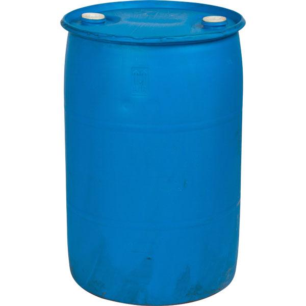 Gallon blue tight head plastic drum reconditioned un