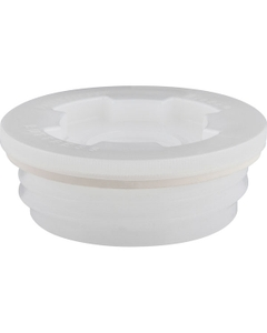 """2"""" Buttress Rieke PPA-57-B-5 Poly-Visegrip HDPE Drum Plug with 3/4"""" Threaded Reducer"""