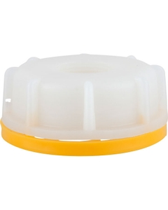 """61mm Natural Tamper Evident Cap with 3/4"""" Reducer PVC"""