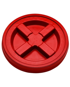Red Gamma Seal Lid for 3.5, 5, 6 & 7 Gallon Plastic Pails