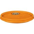 5 Gallon UN Rated Orange Plastic Pail Lid w/Rieke Flexspout® (P5 Series)