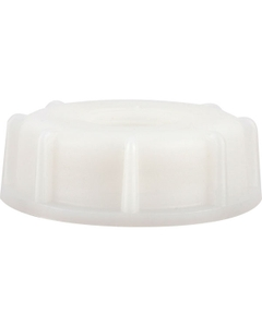 """61mm Natural Screw Cap with 3/4"""" Reducer PVC"""
